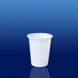 [CC-080BR/1] VASO 80ml BLANCO PS (1/100)